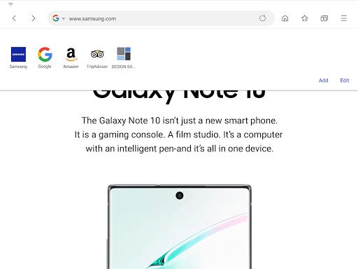 Samsung Internet Browser Beta screenshots 9
