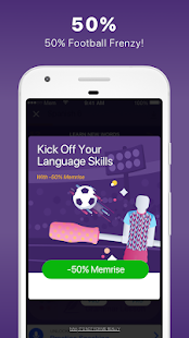 Screenshots of Learn languages, grammar & vocabulary with Memrise for iPhone