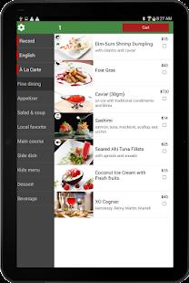 eMenu for Restaurant - náhled