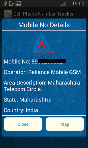 how to find mobile number location on google map