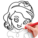 How To Draw Princess icon
