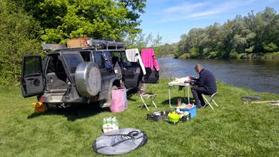 Photo: patrol zapewnial wszystko wlacznie z ciepla woda do kapieli:)