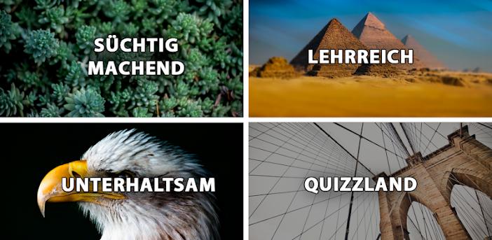 Fragen & Antworten. Das Quiz-Spiel: QuizzLand.
