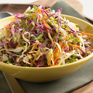 Cole Slaw Salad with Purple Cabbage.