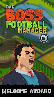 The Boss: Football League Soccer Manager - náhled