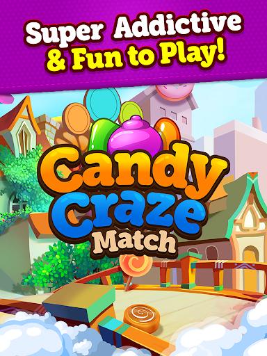 Candy Craze 2020: Match 3 Games Free New No Wifi apkmr screenshots 13