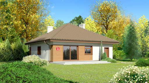 projekt Dom przy Niezapominajek 2