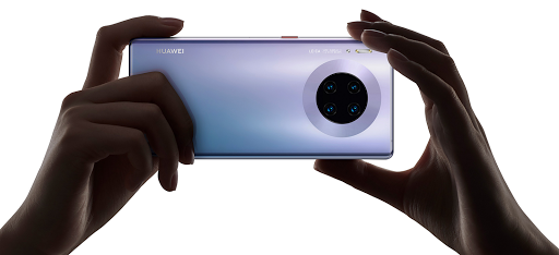 The Huawei Mate 30 Pro.