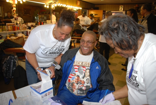 Barbershop Health Fair