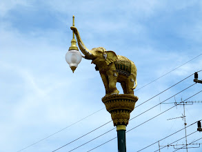 Photo: Day 318 -  The Elephant Lampost