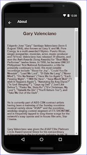 Gary Valenciano Music Lyrics - náhled