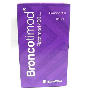 BRONCOTIMOD 400MG SOLUCIÓN