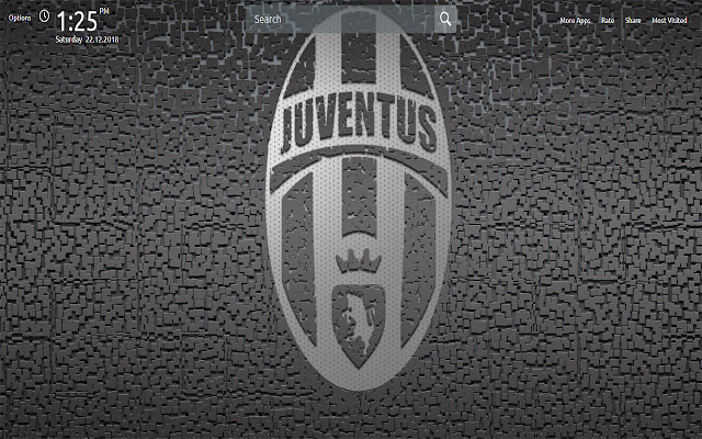 Juventus Wallpapers Theme New Tab