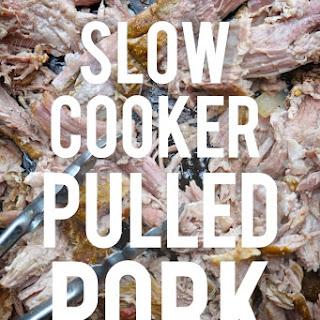 Slow Cooker Pulled Pork.