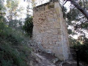 Photo: restes torre del castell de la Pobla de Montornés