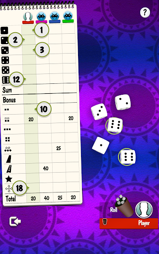 Yatzy Offline and Online - free dice game 3.2.25 screenshots 9
