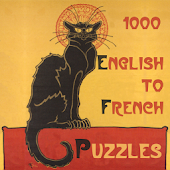1000 English to French Puzzles