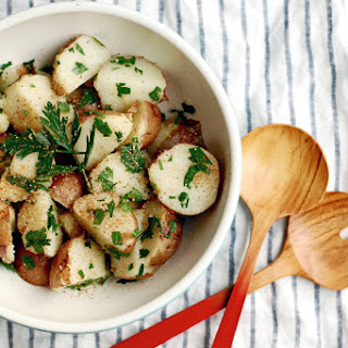 Red Potatoes with Parsley and Lime