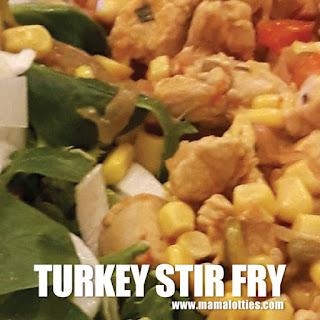 Turkey Stir Fry.