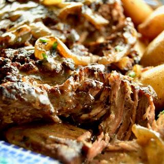 Balsamic Beef Roast (crockpot/slow-cooker).