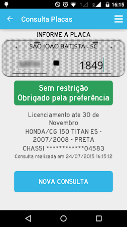 Consultar Placas Detran 2.7.10 screenshot 642226