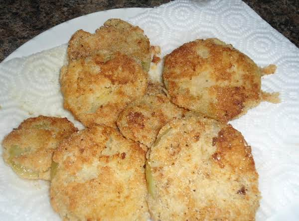 Fried Green Tomatoes For Two Recipe