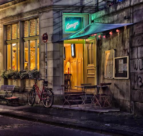 Congo Pub by Dietmar Pohlmann - City,  Street & Park  Markets & Shops ( nightshot, art, street, bistro, pub, city )