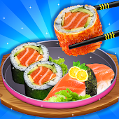 Japanese Food Restaurant - Food Cooking Game Android APK Download Free By Hidden4World