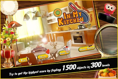 Hidden Object Games In My Kitchen Challenge # 311- screenshot thumbnail