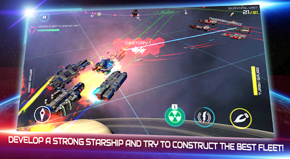 Starship Battle v1.0 APK Full