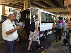 Photo: A l'aéroport, en route pour Jérusalem