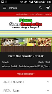 Pizzerie San Daniello Pražák- screenshot thumbnail
