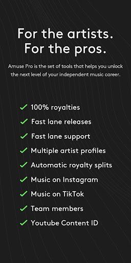 Amuse Music Distribution 3.4.0 screenshots 5