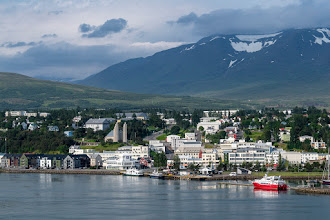 Photo: Akureyri, Island