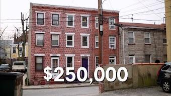 The Straight Skinny on Baltimore's Slim Row Houses