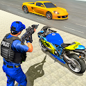 US Police Bike Gangster Chase: Police Bike Games icon