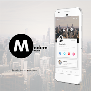 Modern Material Theme for KLWP