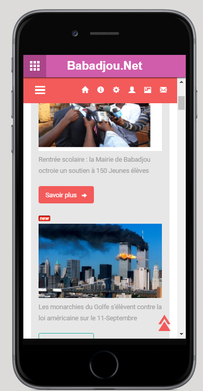 Babadjou.Net Mobile- screenshot