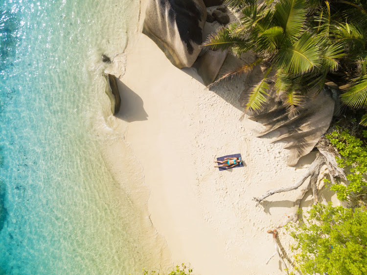 Anse Source d'Argent on the charming island of La Digue is possibly the most famous island in the Seychelles.