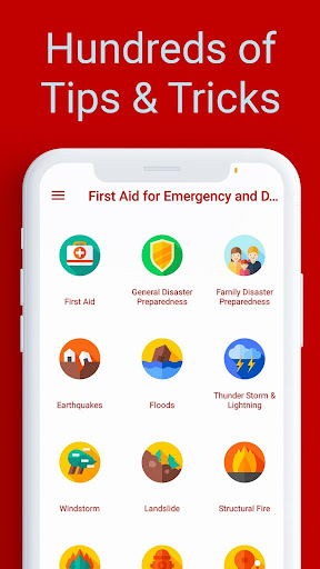 First Aid for Emergency & Disaster Preparedness screenshot 1