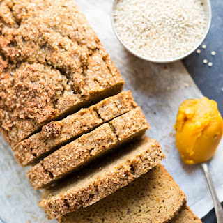 Quinoa + Almond Flour Pumpkin Bread.