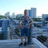 Lincoln Road packing deck in Miami in Miami, Florida, United States