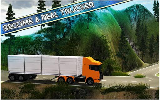 américain euro un camion Simulateur Jeux  captures d'écran 4
