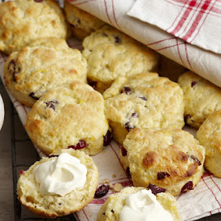 Cranberry and Orange Scones