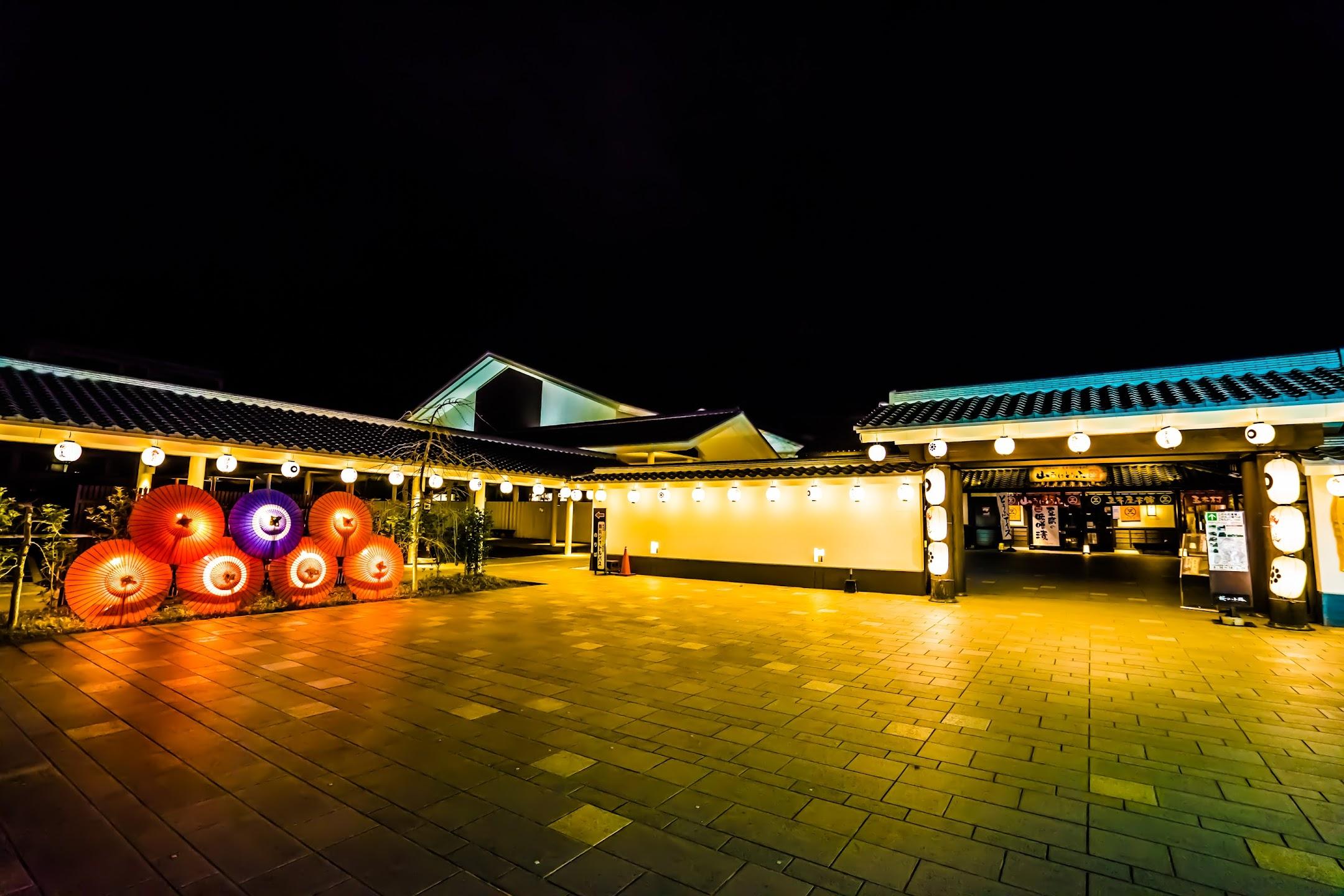 熊本 城彩苑 ライトアップ2