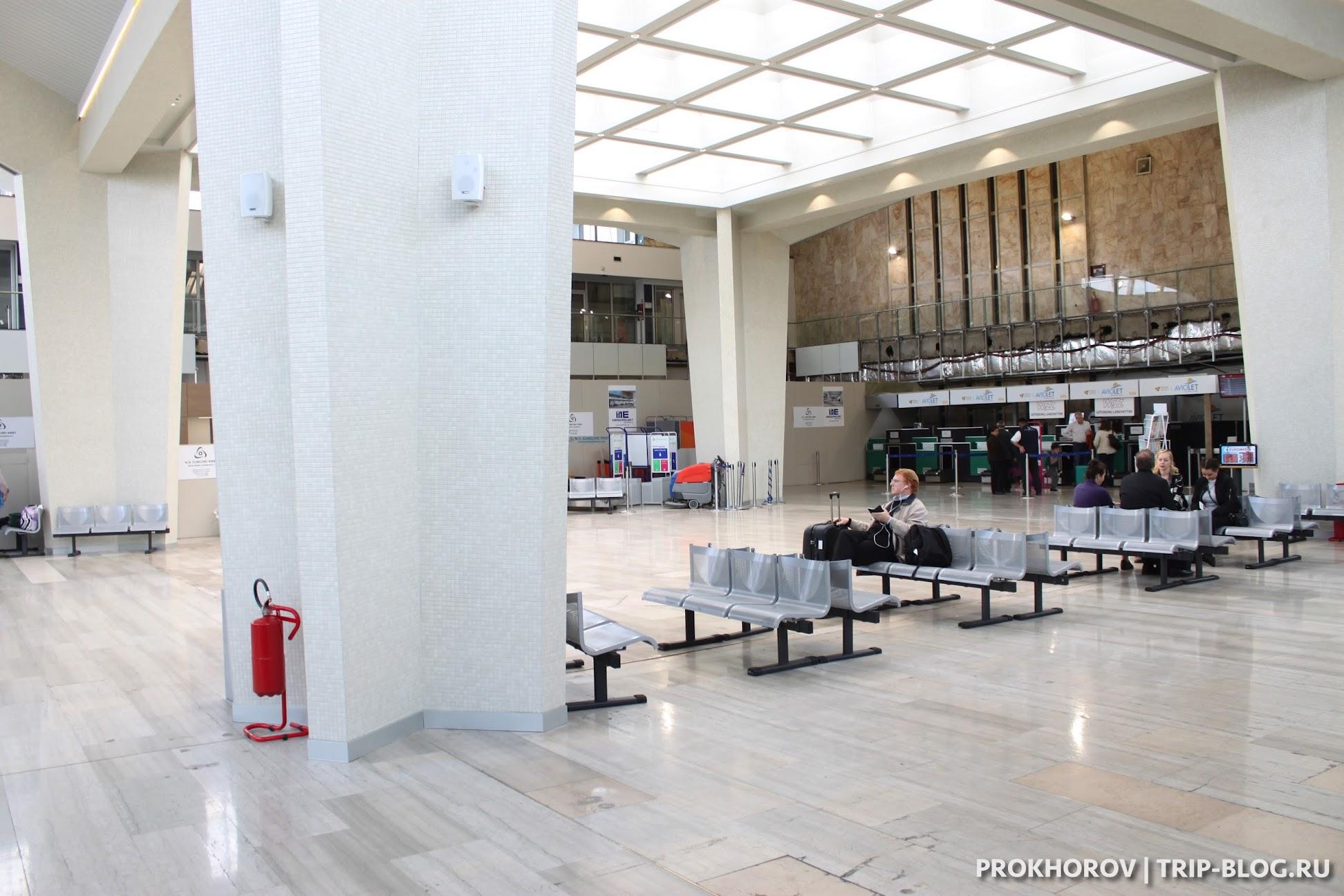 Терминал 1 аэропорт Белграда