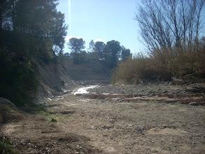 Photo: Així està l'arribada del Camí de la Font del Povil a finals de gener de 2009.
