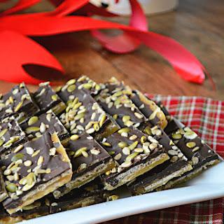 Gluten & Nut Free Toffee Crunch Bark {Refined Sugar Free}