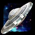 UFO Space 3D Live Wallpaper icon
