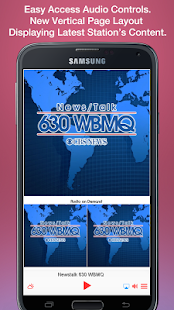 Newstalk 630 WBMQ- screenshot thumbnail
